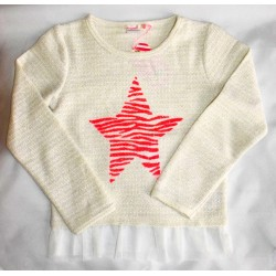 Billieblush Star Sweater